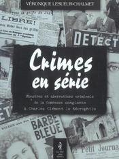 Crimes En Serie - Intérieur - Format classique
