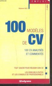 100 modèles de cv (3e édition) - Couverture - Format classique