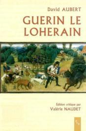 Guerin Le Loherain - Couverture - Format classique