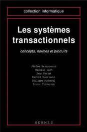 Les systemes transactionnels - Couverture - Format classique