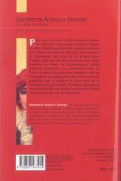 La Tante Marquise - 4ème de couverture - Format classique