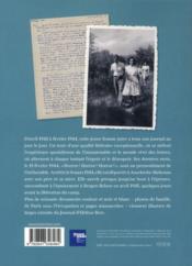 Le journal d'Hélène Berr - 4ème de couverture - Format classique