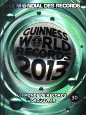 Vente livre :  Guinness world records (édition 2013)  - Collectif