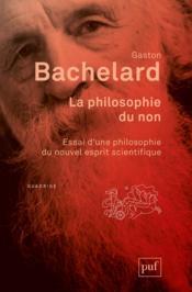 La philosophie du non (7e édition) - Couverture - Format classique