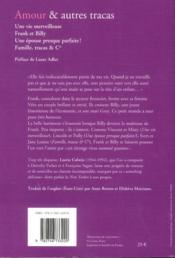 Amour et autres tracas - 4ème de couverture - Format classique