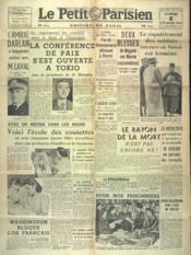 Petit Parisien Edition De Paris (Le) du 08/02/1941 - Couverture - Format classique