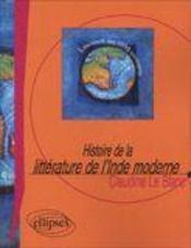 Histoire De La Litterature De L'Inde Moderne - Intérieur - Format classique