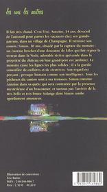 Le Pecheur De Nuages - 4ème de couverture - Format classique