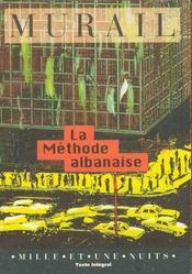 La Methode Albanaise - Intérieur - Format classique
