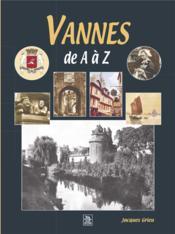 Vannes de A à Z - Couverture - Format classique