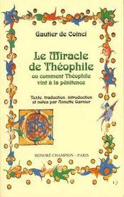 Le miracle de theophile ou comment theophile vint a la penitence - Intérieur - Format classique