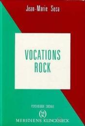 Vocations Rock - Couverture - Format classique