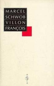 Villon Francois - Couverture - Format classique