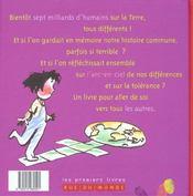 Le Premier Livre De Toutes Nos Couleurs - 4ème de couverture - Format classique