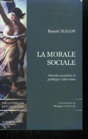 La morale sociale - Couverture - Format classique