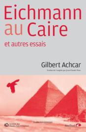 Eichmann au Caire - Couverture - Format classique