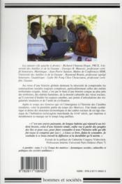 Histoire et civilisation de la caraibe. tome 2. le temps des matrices : economie et cadres sociaux d - 4ème de couverture - Format classique