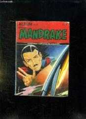 Mandrake Album N° 2. N° 9 - 10. - Couverture - Format classique