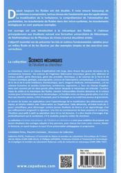 Introduction à la mécanique des fluides - 4ème de couverture - Format classique