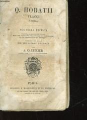 Q. Horatii Flaccia Opera - Couverture - Format classique