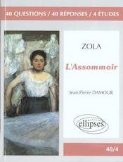 Zola L'Assommoir - Intérieur - Format classique