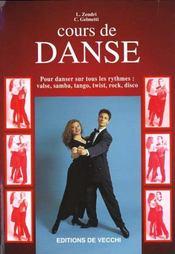 Cours De Danse : Pour Danses Sur Tous Les Rythmes, Valse, Samba, Tango, Twist, Rock, Disco - Intérieur - Format classique