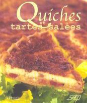 Quiches et tartes salees - Intérieur - Format classique
