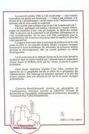 Nimes, Le Choc De La Modernite - 4ème de couverture - Format classique