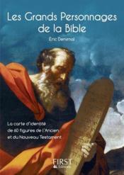 Les grands personnages de la Bible - Couverture - Format classique
