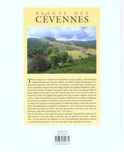 Des Cevennes - 4ème de couverture - Format classique