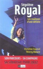 Ségolène Royal, les coulisses d'une défaite - Intérieur - Format classique