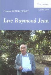 Lire Raymond Jean - Intérieur - Format classique