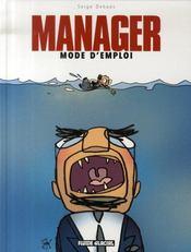 Manager mode d'emploi t.1 - Intérieur - Format classique