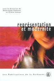Representation Et Modernite - Intérieur - Format classique