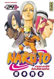 Naruto t.24 - Couverture - Format classique