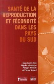 Sante De La Reproduction Et Fecondite Dans Les Pays Du Sud - Intérieur - Format classique