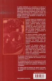 Sante De La Reproduction Et Fecondite Dans Les Pays Du Sud - 4ème de couverture - Format classique