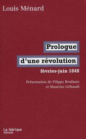 Prologue d'une révolution ; février-juin 1848 - Intérieur - Format classique