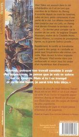 Yendi - 4ème de couverture - Format classique