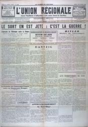 Union Regionale (L') N°1097 du 07/09/1939 - Couverture - Format classique