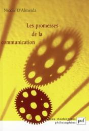 Les promesses de la communication (2e édition) - Couverture - Format classique
