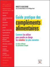Guide pratique des compléments alimentaires - Couverture - Format classique