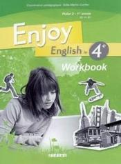 Vente livre :  ENJOY ENGLISH IN ; 4ème ; workbook (édition 2008)  - Odile Martin-Cocher