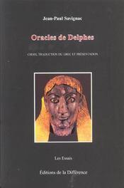 Les oracles de delphes - Intérieur - Format classique