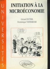 Introduction A La Microeconomie - Couverture - Format classique