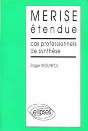 Merise Etendue Cas Professionnels De Synthese - Couverture - Format classique