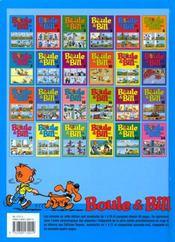 Boule et Bill t.1 - 4ème de couverture - Format classique