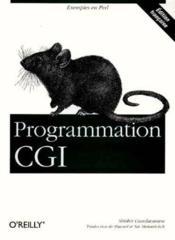 Programmation Cgi Pour Le Web. Exemples En Perl - Couverture - Format classique