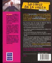 Le Coeur De La Vente. L'Essentiel De L'Essentiel - 4ème de couverture - Format classique