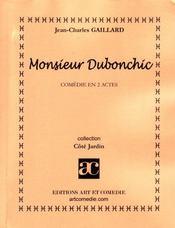 Monsieur dubonchic - Intérieur - Format classique